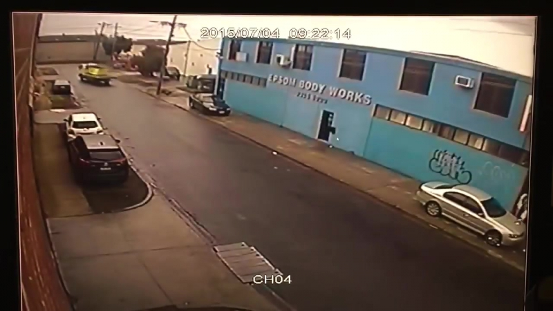 High, drunk or just a muppet! Idiot truck driver causes electrical failure