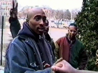 Tupac - That's my hairy ass cousin