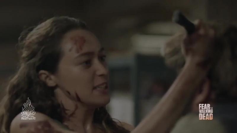 Бойтесь ходячих мертвецов: создание спецэффектов в 3 сезоне.