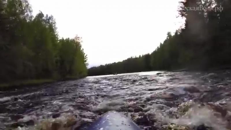 [РВ] Поход в Карелию, сплав по реке Укса-shclip-scscscrp