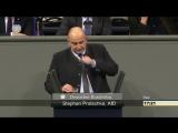 ► AfD - Stephan Protschka schmettert die Zwischenfrage von Künast und Göring-Eckardt ab