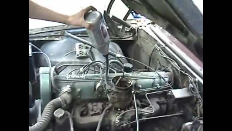 1967 Pontiac Firebird 20 Year Cold Start