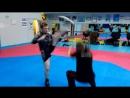 Стальной кулак СФП с ударами ног