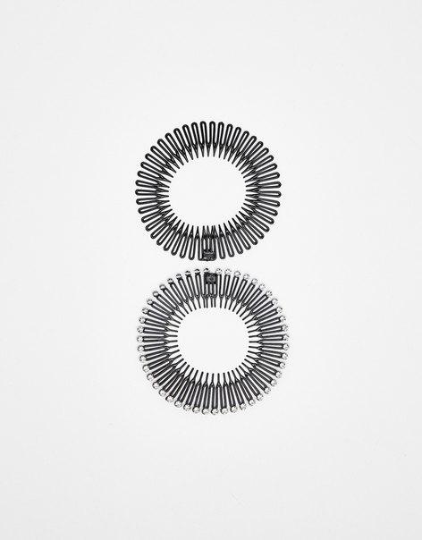Набор из 2 обручей для волос
