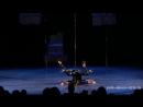 Дуэт Стрип ExoticPD, Ксения Аносова и Надежда Колесникова. Шоу 8D студии Pole Dance Style