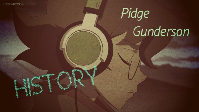 Pidge Gunderson history