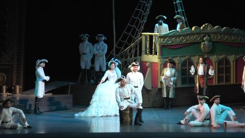 Мюзикл Голубая камея- Лебедь и сокол(исп.Никита Поливин)
