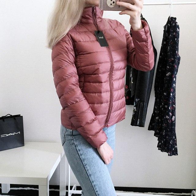 Куртка в пыльно-розовом цвете