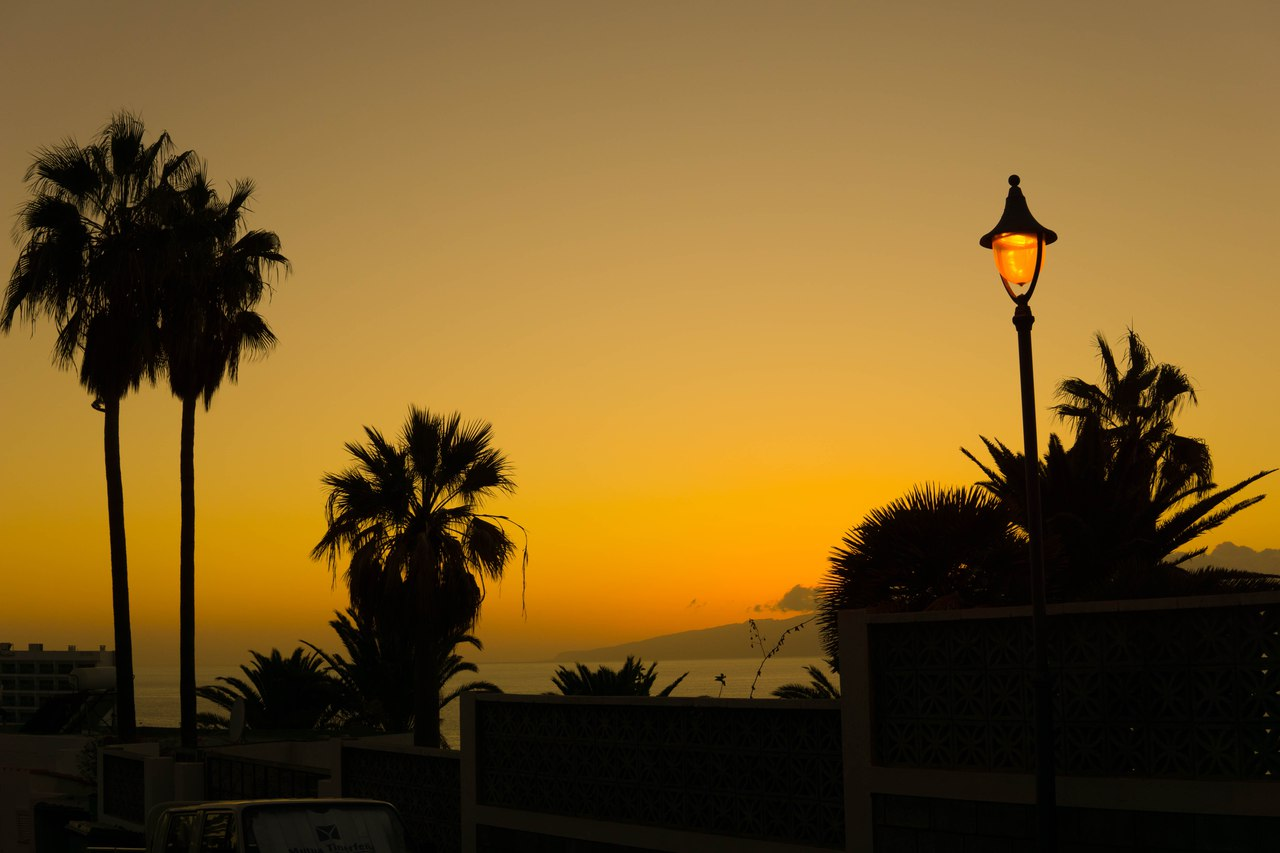 вечер в Лос Гигантес