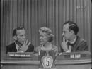 What's My Line? - George Burns, Gracie Allen; Margaret Truman (panel) (Jun 6, 1954)
