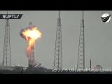 В момент взрыва Falcon 9 пролетел объект на высокой скорости
