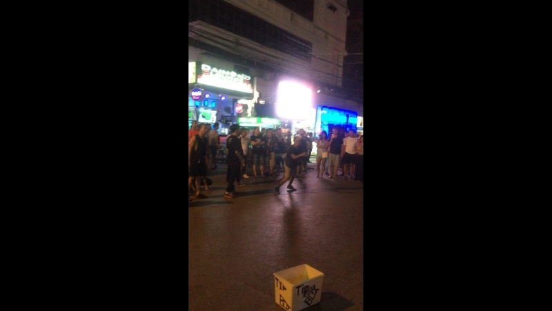 Уличные танцы Пхукета