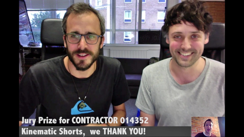 CONTRACTOR-014352 TEAM for Kinematic Shorts