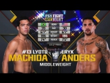 UFC FIGHT NIGHT 125 Lyoto Machida vs. Eryk Anders