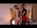 Stockings Shades of Blonde Рабыни.Lesbian Facesitting.Lesbian Domination. Lezdom.lesbian slave.Stomach Punch_