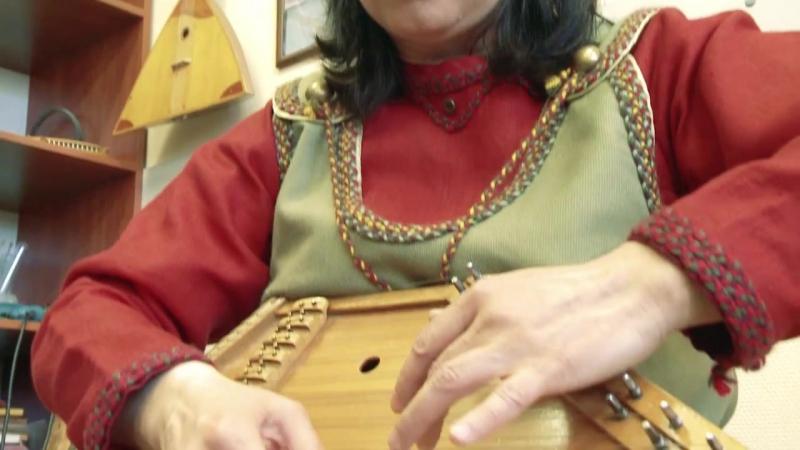 Рунический напев Калевальского района на кантеле