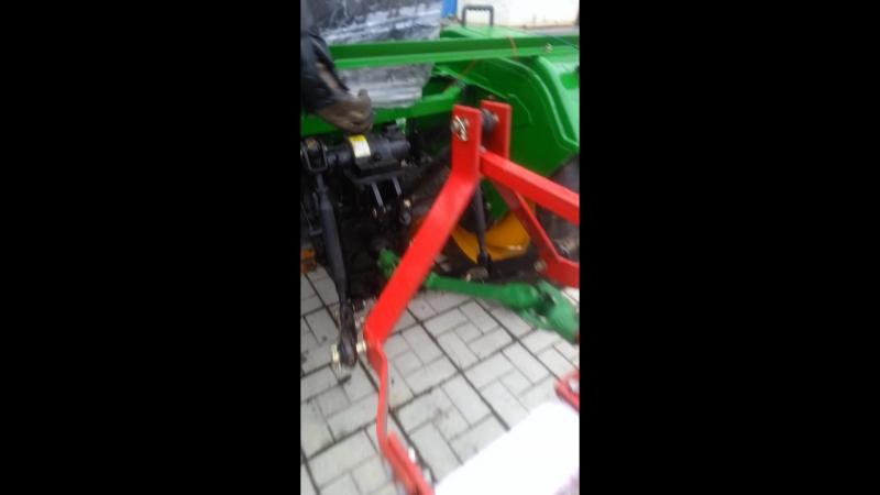 Мини-тракторы Zubr