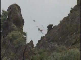 Уничтожение снайпером боевиков из винтовки ОСВ-96 с 1300 метров. Калибр 12,7мм(Разрывные)