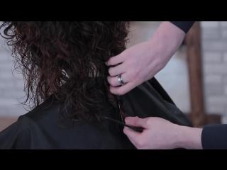 DEMETRIUS - Женская стрижка на кудрявые волосы