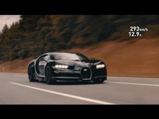 Разгон Bugatti Chiron BOSS-AUTORENT