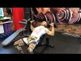 Сергей Романов-тренировка грудных мышц