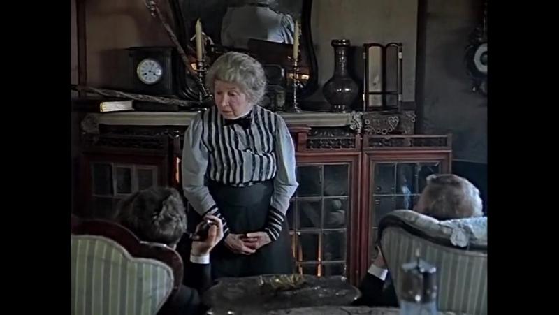 Приключения Шерлока Холмса и доктора Ватсона. Как выглядит нормальный лондонский почтальон. Рина Зеленая