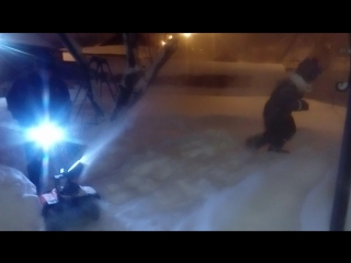Снегопад века!!! Когда без тяжелой техники не обойтись!!!