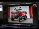 Съемки новинки - квадроцикла YACOTA CABO 200