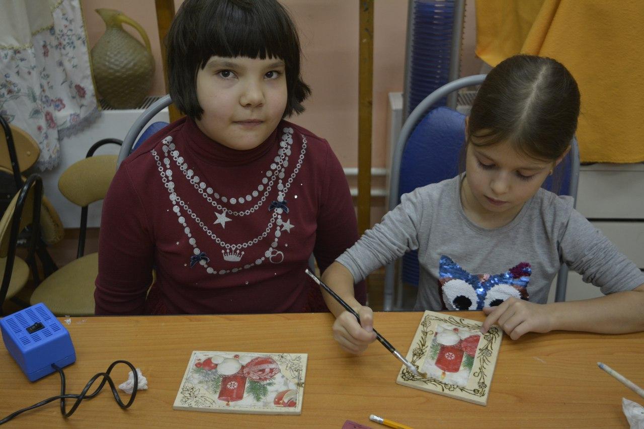 выжигание по дереву - мастер-класс для воспитанников Московии
