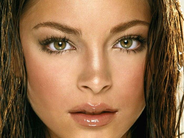макияж на узкие глаза фото