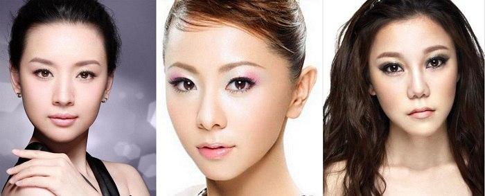 как с помощью макияжа сделать глаза узкими