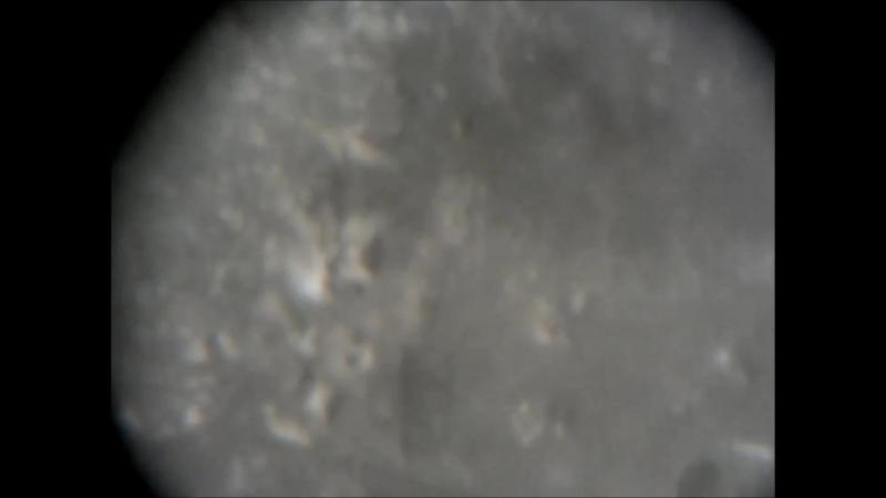 кратер Архимед и окрестности, увеличение 1500 х