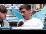 Tom Daley and Sadiq Kahn at London Pride 2017!  Update News
