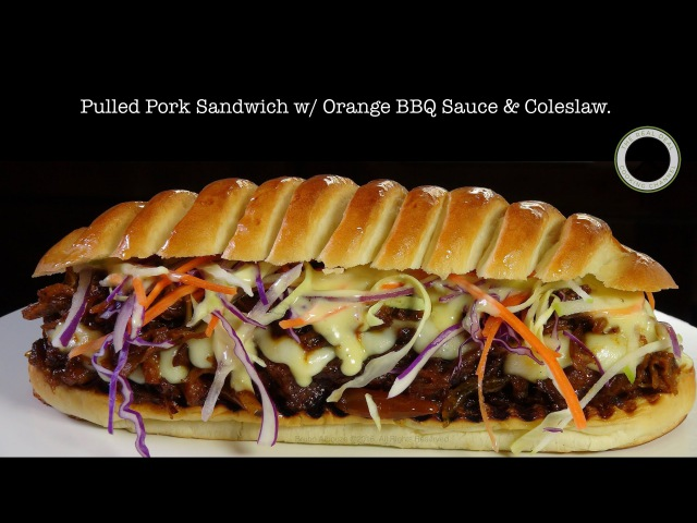 Pulled Pork Sandwich – Bruno Albouze – THE REAL DEAL