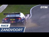 The danger of cold tyres - DTM Zandvoort 2017