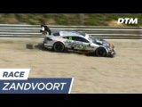 Maro Engel struggles in the gravel - DTM Zandvoort 2017
