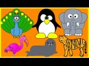 Colors with Zoo Animals in Mandarin Simplified Chinese - 动物园   简体中文