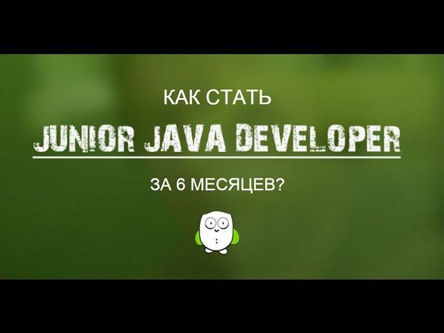 Как стать Junior Java Developer за 6 месяцев