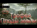 Shadow of the Colossus (В тени колосса) Трофей [PS4] Плоды земли