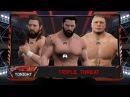 WFW Raw - Charlie York vs Daniel Bryan vs Brock Lesnar [Triple Major Championship Threat]
