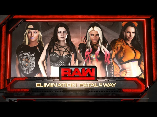 SBW Raw Paige vs Alexa Bliss vs Liv Morgan vs Olivia Fox