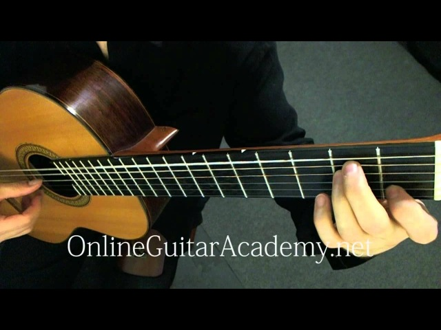 Theme from Swan Lake Guitar Transcription Pyotr Ilyich Tchaikovsky
