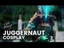 Juggernaut Cosplay Photoshop Speed Art
