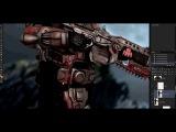 @wrathofsingaming Gears of War photoshop cosplay edit