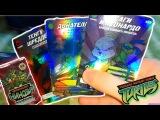 ОБЗОР КАРТОЧЕК ЧЕРЕПАШКИ НИНДЗЯ БРАТЬЯ ПО ОРУЖИЮ ! (TMNT Боевая Четвёрка) (Коллекция Журналов 2011)
