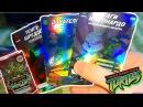 ОБЗОР КАРТОЧЕК ЧЕРЕПАШКИ НИНДЗЯ БРАТЬЯ ПО ОРУЖИЮ ! TMNT Боевая Четвёрка Коллекция Журналов 2011