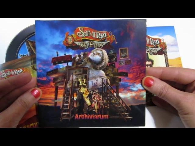 The Samurai of Prog - Archiviarum (CDs unwrapping)