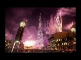 Dubai New Year 2018 Celebration FireWorks in Burj Al Arab, Burj Khalifa & Atlantis the Palm Dubai