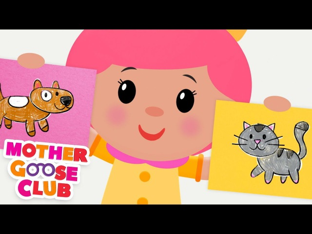 NEW Animal Sounds Song Simple Songs for Kids by Mother Goose Club Animated Songs for Children