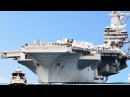 A Day on The Brand New Gigantic US Aircraft Carrier: USS Gerald Ford in Action
